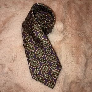 POLO Ralph Lauren VINTAGE purple silk neck tie